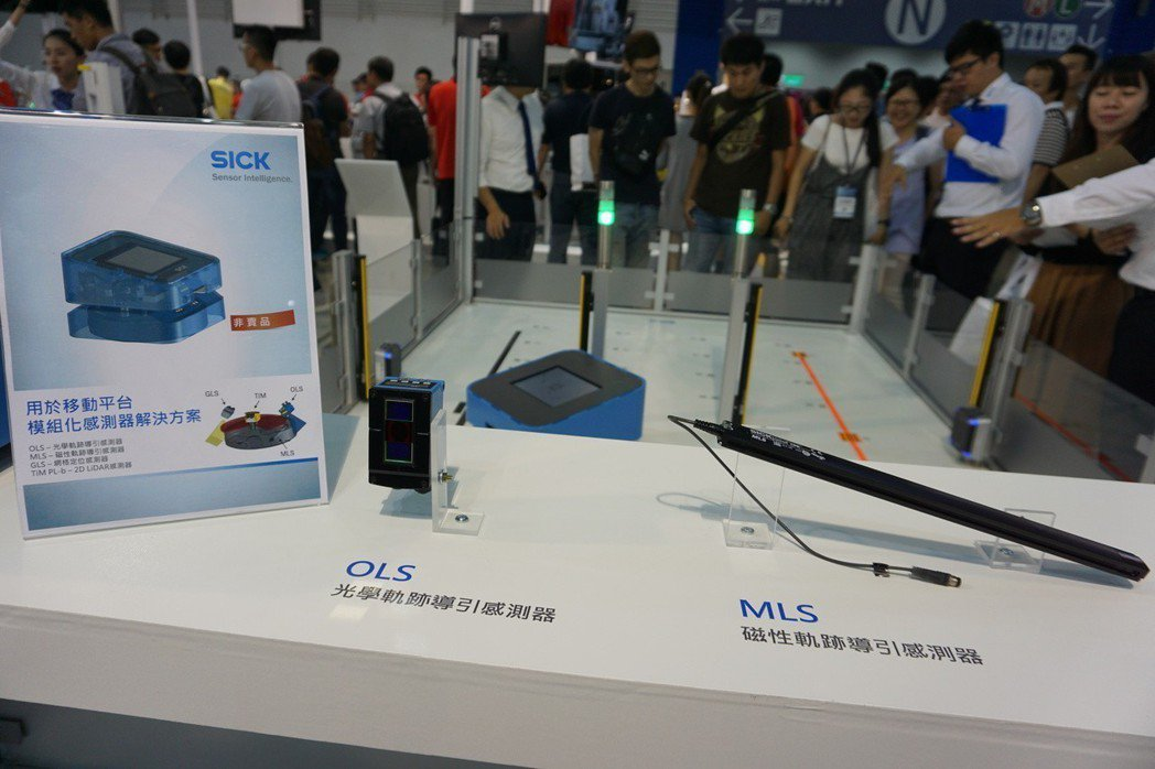 SICK智慧感測器有助實現人機協作環境。 金萊萊/攝影