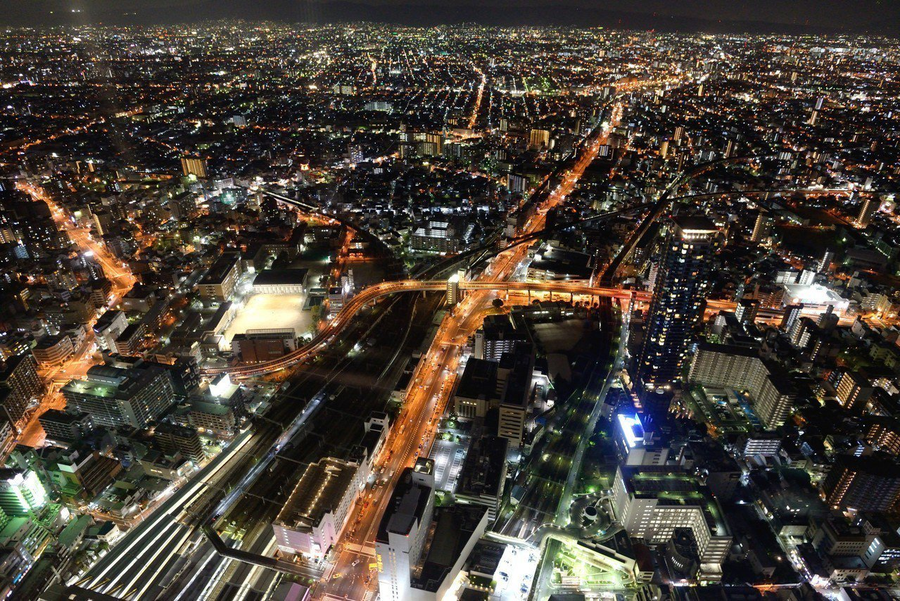 阿倍野HARUKAS展望台。 圖/Flickr
