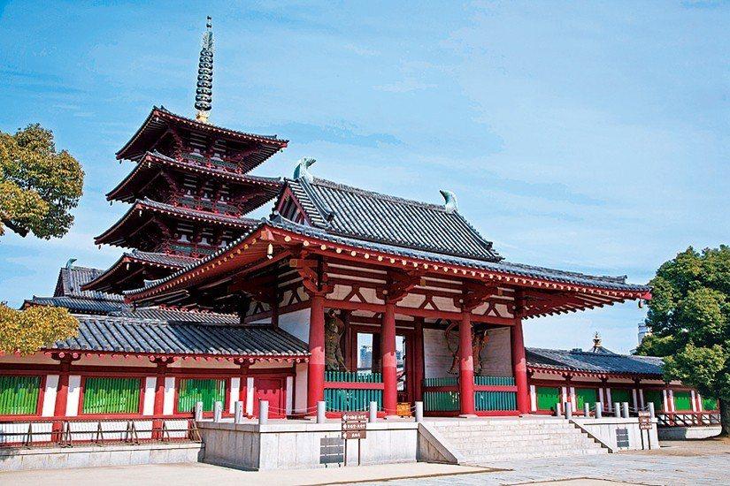 四天王寺。 圖/大阪周遊卡官網