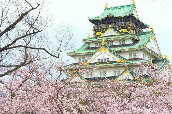大阪城公園。 圖/Flickr