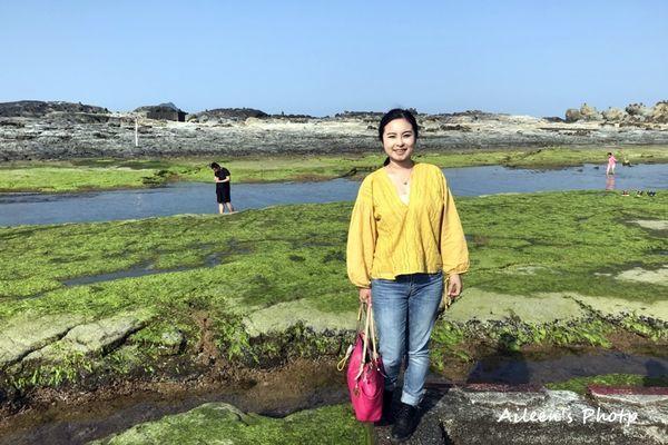 ▲北海岸打卡景點-和平島公園。(圖/Aileen開心過生活)
