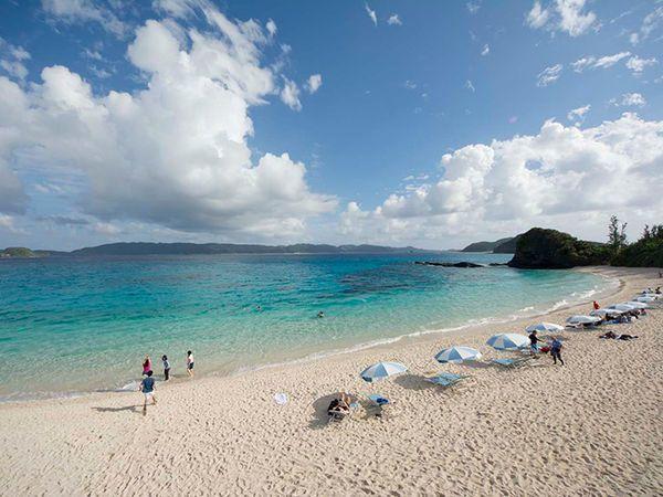 ▲沖繩海灘-古座間味海灘。(圖/Okinawatraveler)