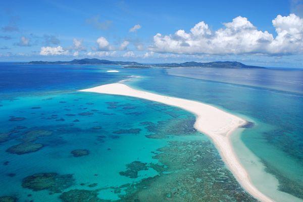 ▲沖繩海灘-ハテの浜。(圖/Okinawatraveler)