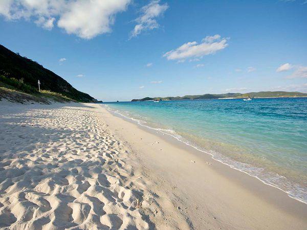 ▲沖繩海灘-北濱海灘。(圖/Okinawatraveler)