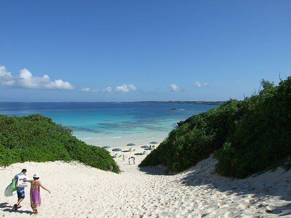 ▲沖繩海灘-砂山ビーチ。(圖/Okinawatraveler)