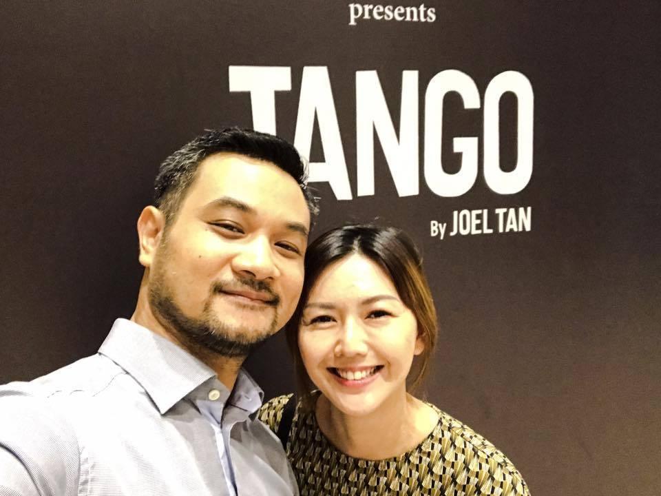 孫燕姿(右)跟老公結婚7年多,育有一子一女。圖/摘自臉書