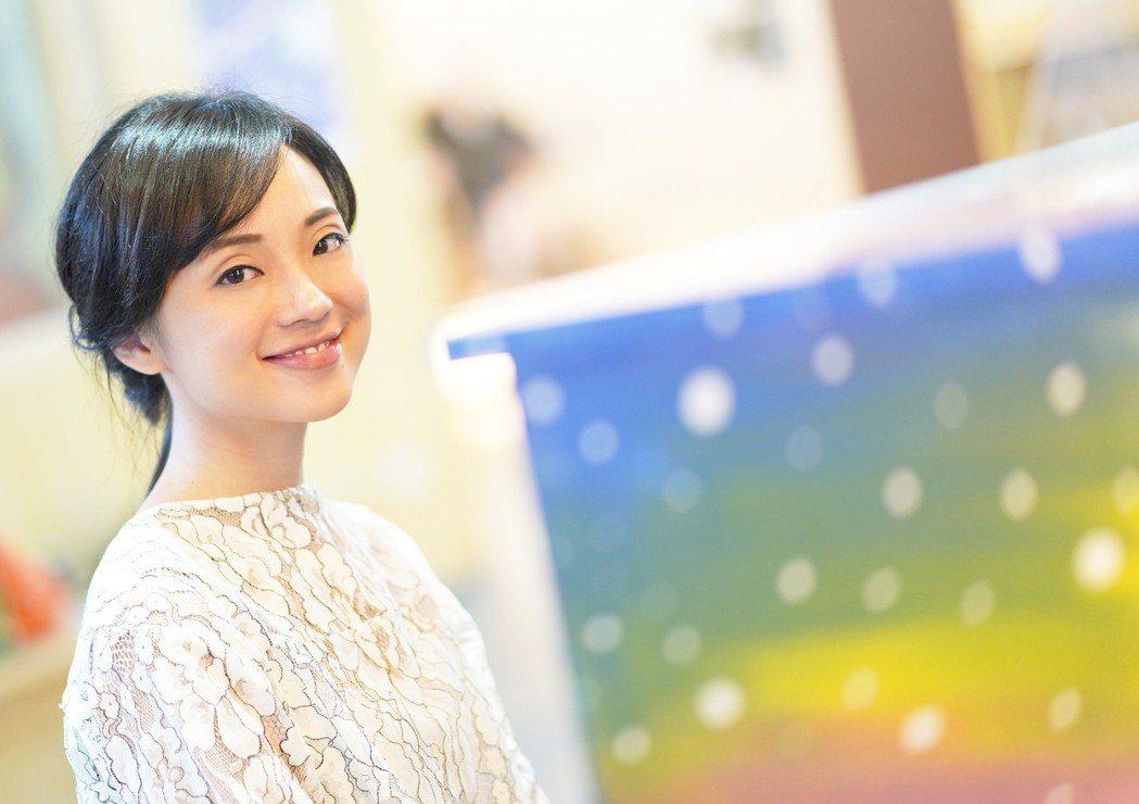 國際知名鋼琴家黃凱盈氣質優雅,被讚是「鋼琴仙女」。圖/極緻形象提供