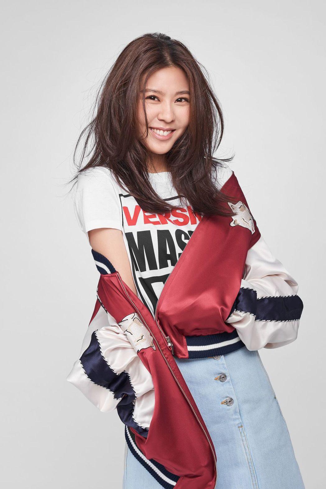 Erika劉艾立特別喜歡成功高中的歌曲。圖/喜鵲娛樂提供