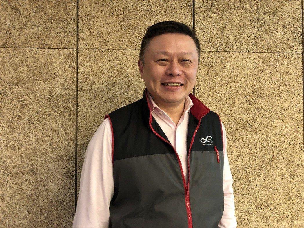 金寶總經理沈軾榮。記者蕭君暉/攝影