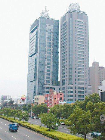寶成集團台中營運總部。 本報系資料庫