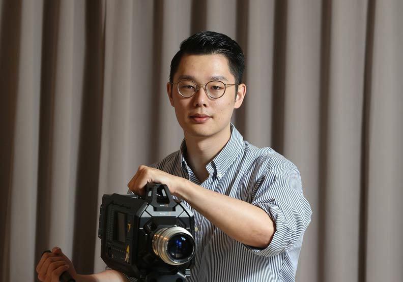 徐嘉凱讓曾志偉答應出演SELFPICK的電影,費了不少功夫。 攝影/張智傑
