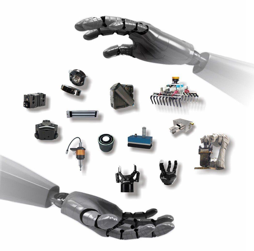錡鋒技研提供最完善的自動化周邊產品及機械手臂末端效應器零組件。錡鋒技研/提供