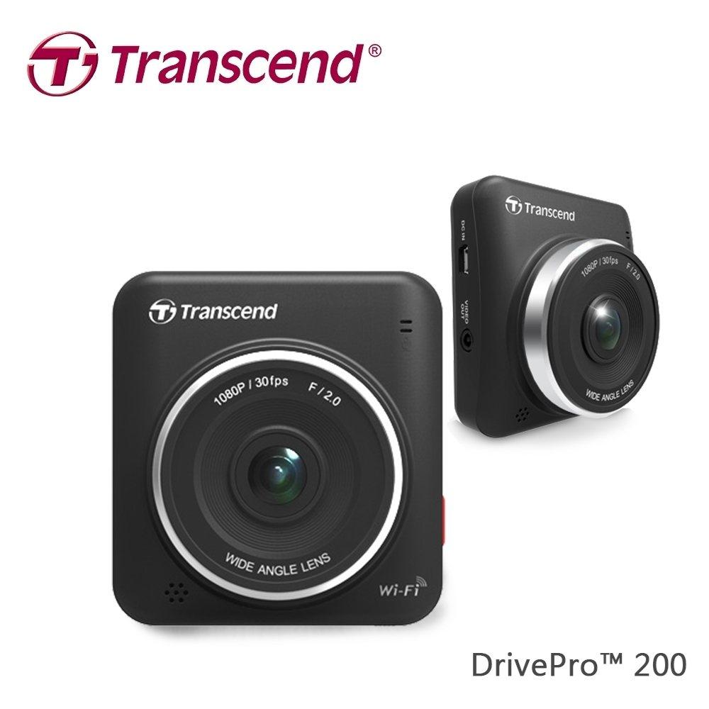 Transcend DrivePro 200超廣角行車記錄器。 圖由廠商提供