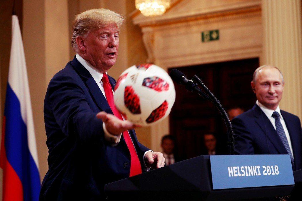 除了獲得足球一粒,普普會對於美國則實無太大助益。 圖/美聯社