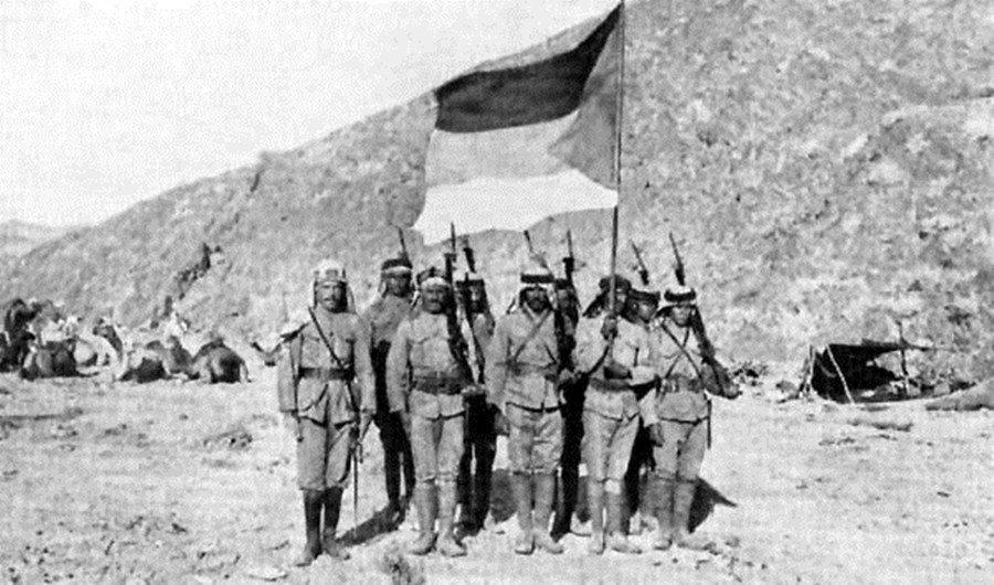 一戰期間,英法為拉攏鄂圖曼帝國治下阿拉伯人,曾允諾他們在戰後協助建立獨立國家,但...
