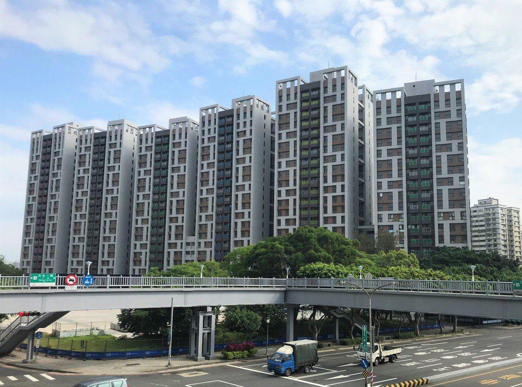 林口選手村社會住宅。 記者游智文/攝影