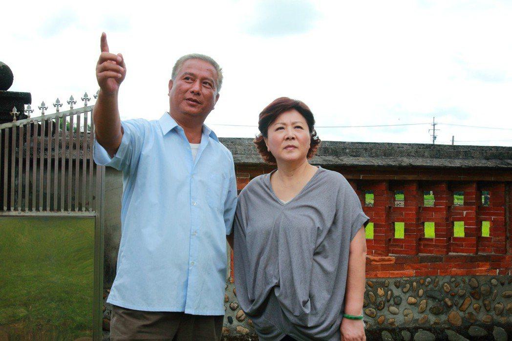 馬如風、劉秀雯在「風水世家」飾演夫妻。圖/民視提供