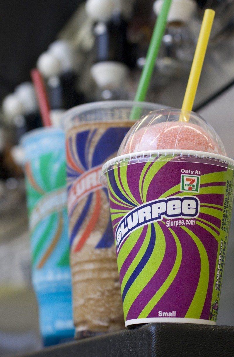 7-11超商當年推出的思樂冰飲品,深受不少消費者歡迎。美聯社