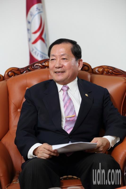 台首大校長許光華今卸任。記者謝進盛/攝影