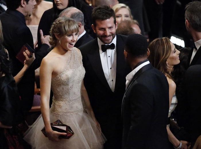 蘇琪沃特豪斯與布萊德利庫柏的戀情當初備受關注,兩人還一起出席奧斯卡頒獎典禮。圖/...