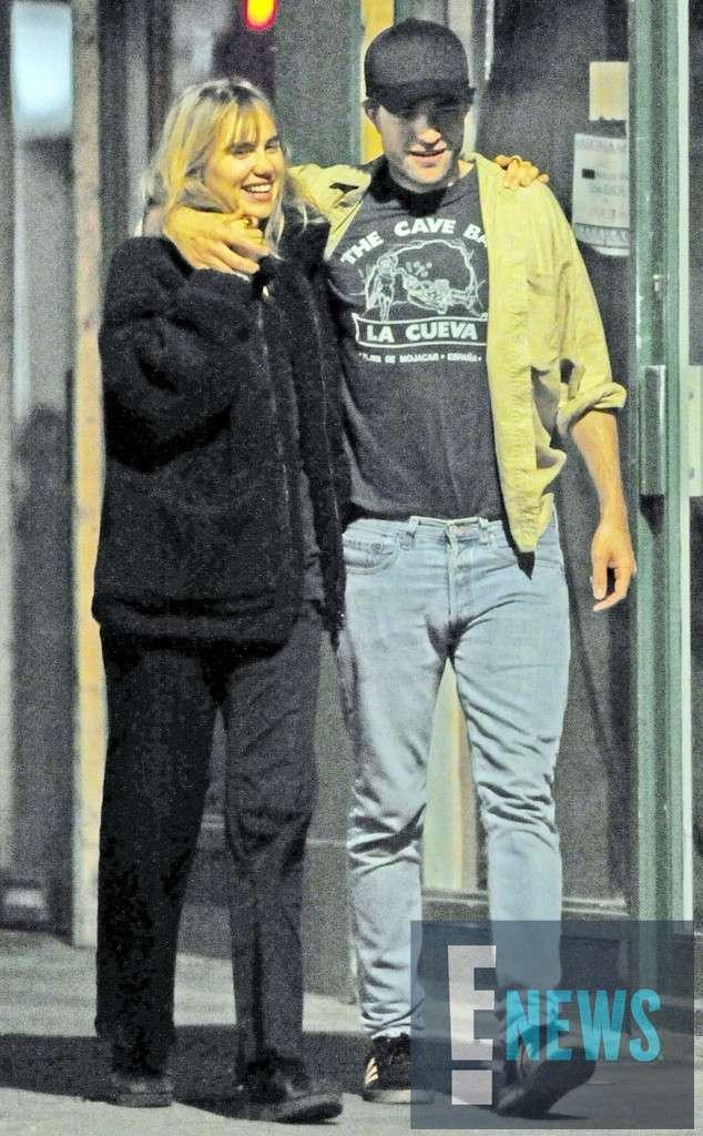 羅伯派汀森被爆戀上名模女星蘇琪沃特豪斯。圖/摘自E! News