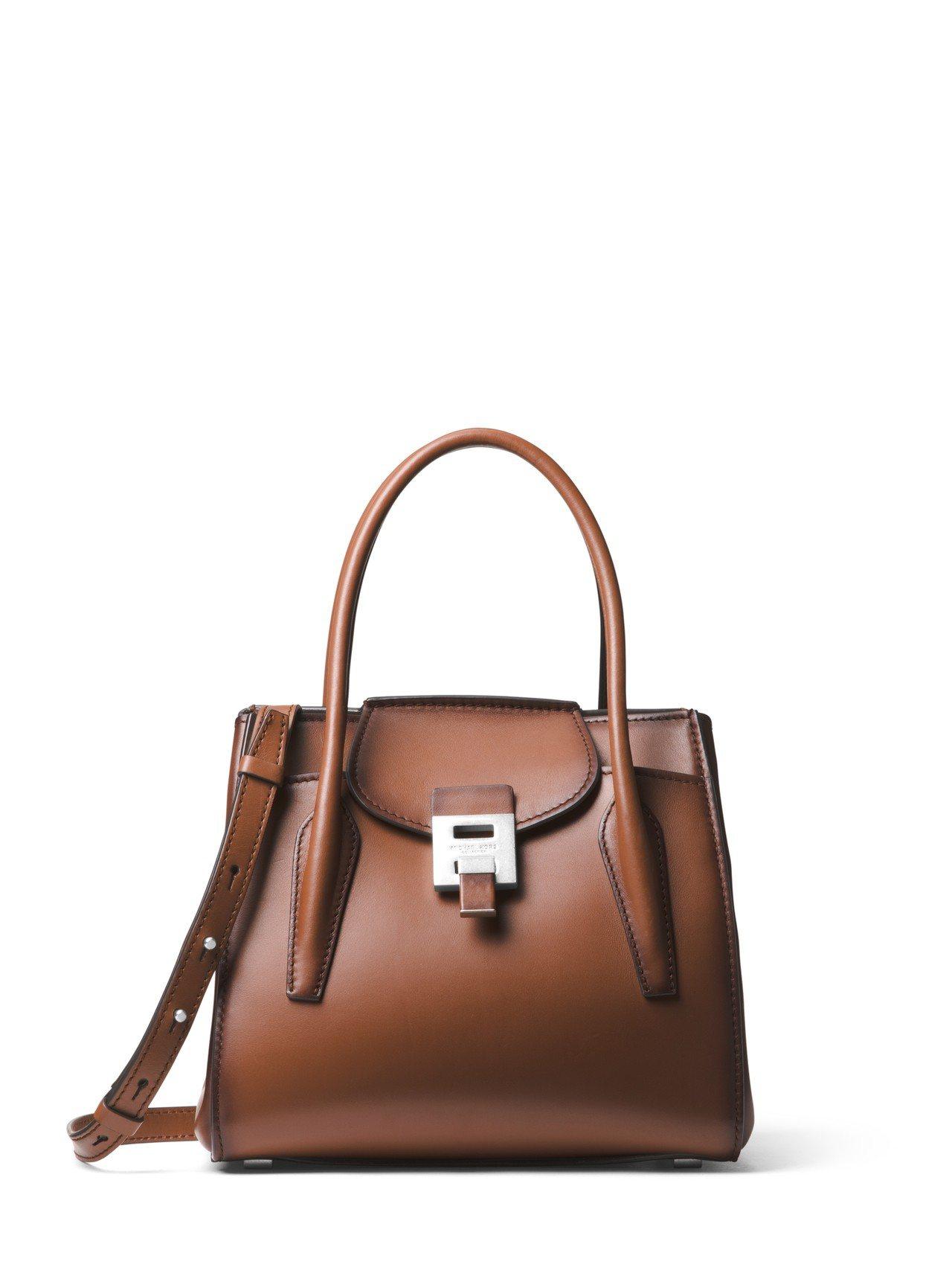 Bancroft義大利牛皮馬鞍色提包,售價48,900元。圖/MICHAEL K...