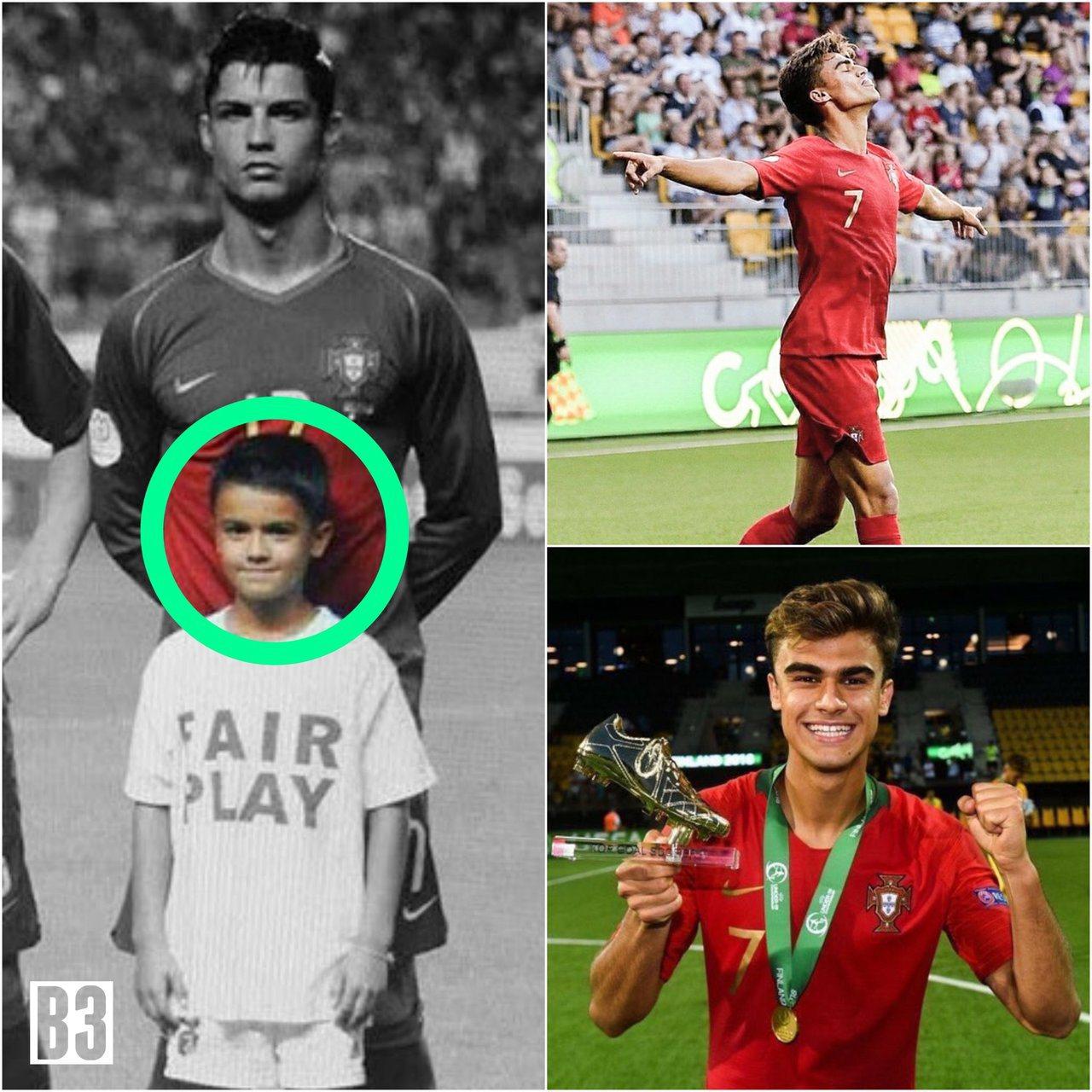 效力於本非卡青年隊,身兼U19葡萄牙國家隊雙核心之一的約塔在奪冠後,貼出自己與偶...