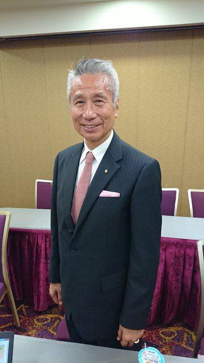 有意參與大同經營權的三圓機構董事長王光祥昨天表示,已獲超過五成盟友支持。 圖/聯...