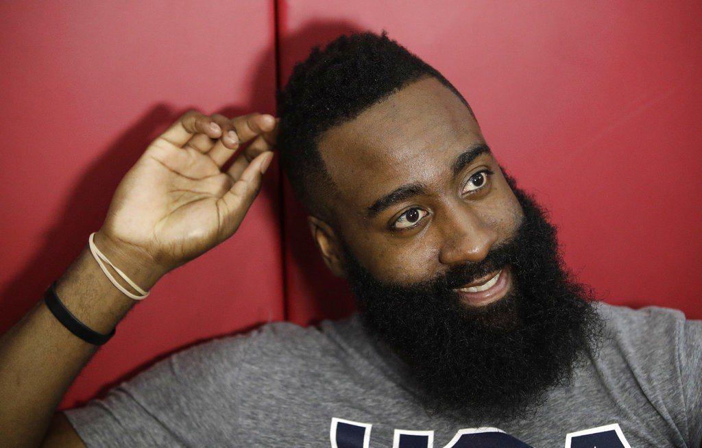 NBA頻傳重磅交易,哈登說沒甚麼能嚇得了我的。 美聯社