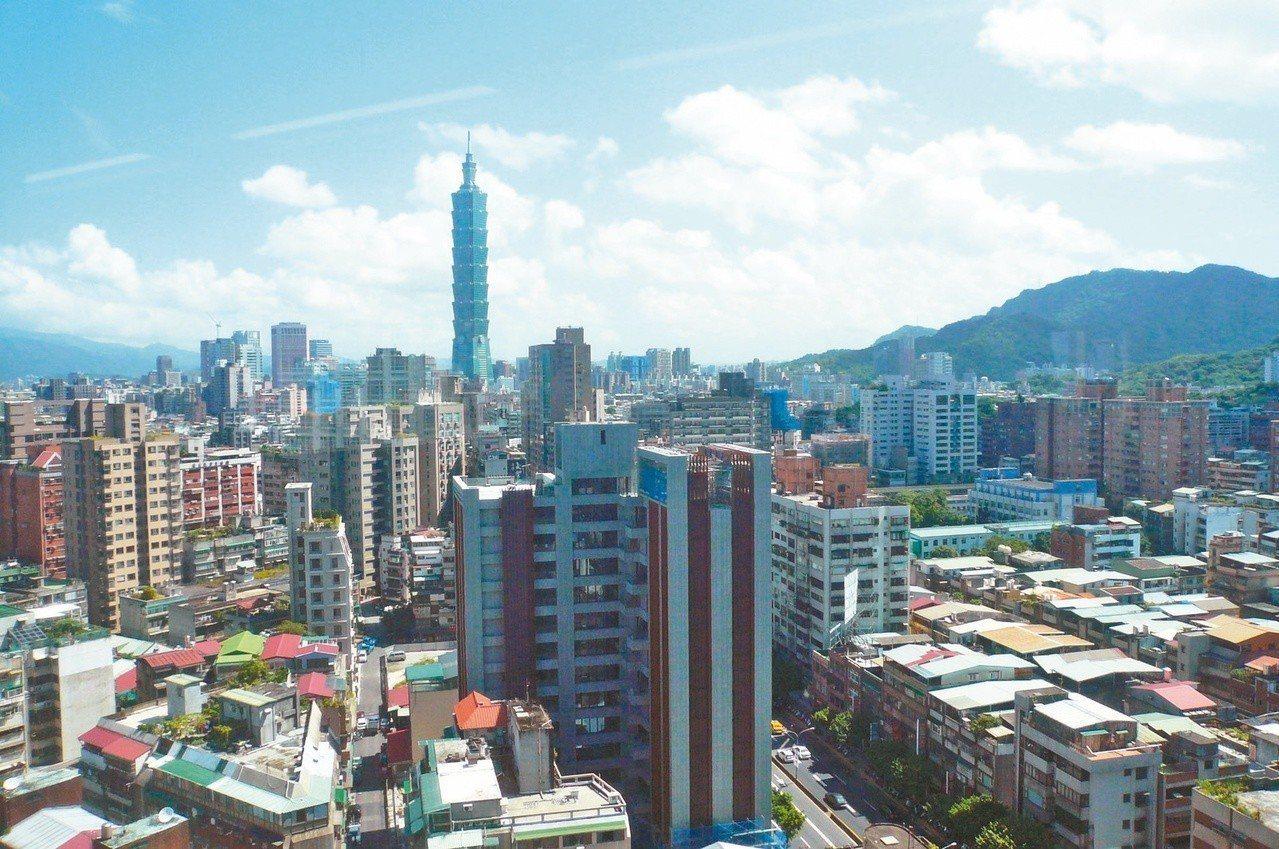 雙北房價所得比仍高得驚人,台北市房價所得比為15倍。 圖/聯合報系資料照