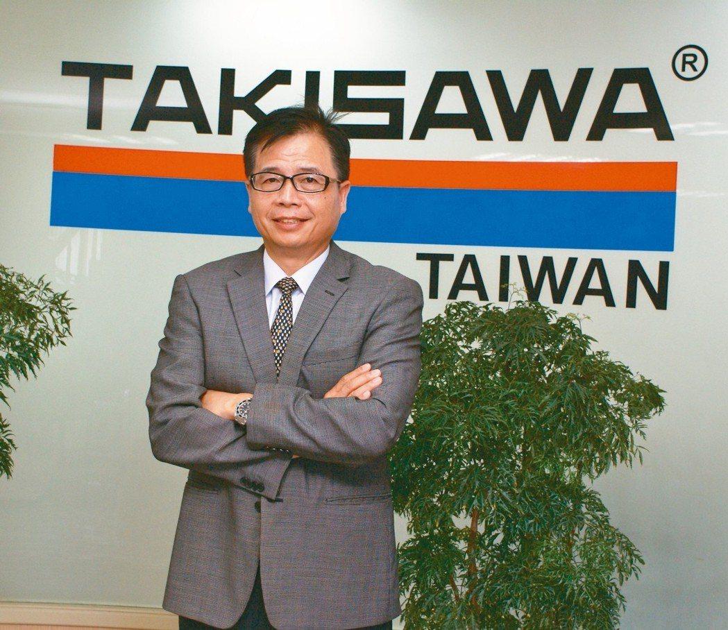 瀧澤科總經理戴雲錦。 吳青常/攝影