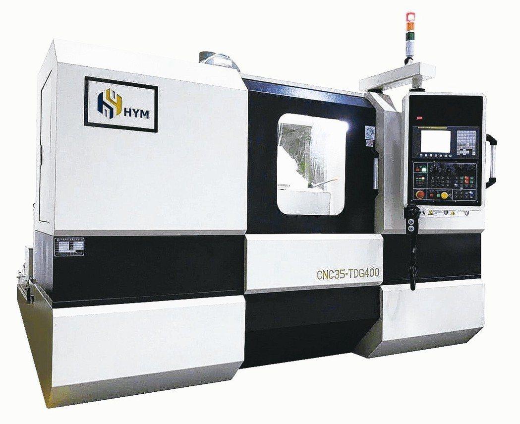 CNC35-TDG400電腦數值控制精密螺紋磨床。 向應機械/提供