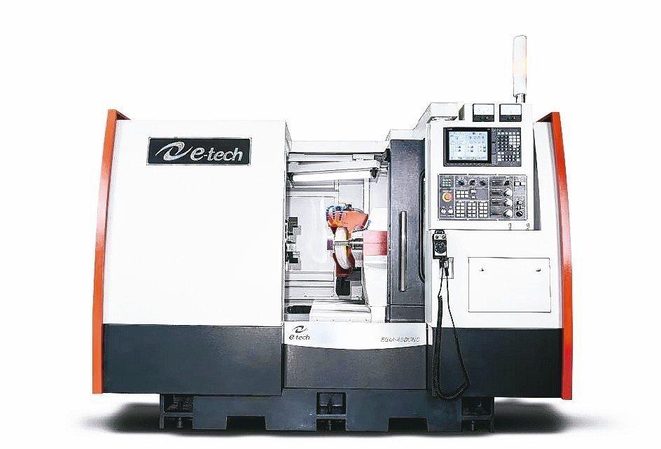 毅德機械研發成功的EGM450CNC內外徑複合式磨床獲市場最高評價。 毅德機械/...
