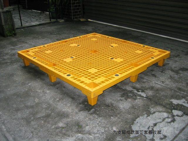 棧板可套疊收藏 佳毅公司/提供