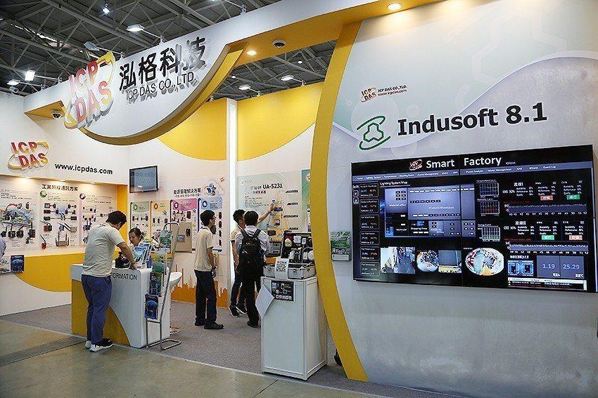 泓格科技在「2018自動化工業大展」中,於「M1131」展出。 曹松清/攝影