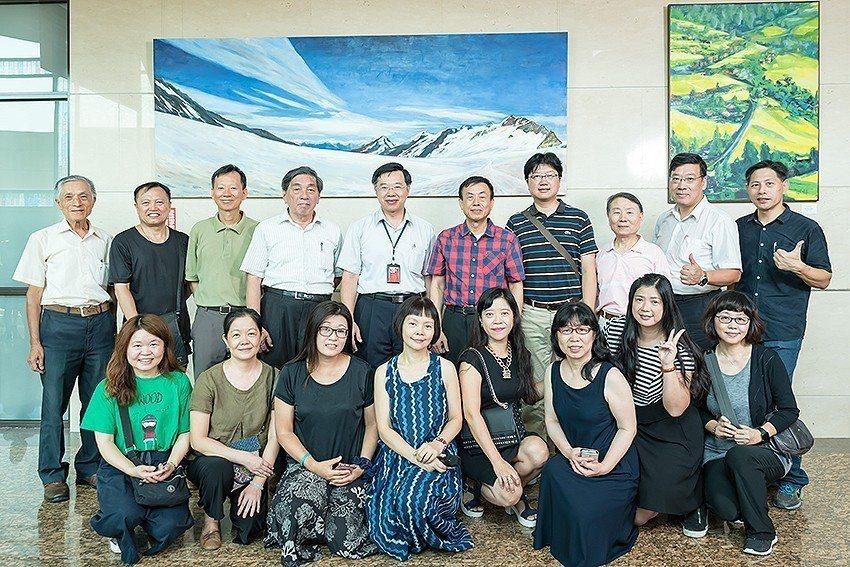 2018年度地檢署第二檔「夏之頌」藝文空間聯展,8月1日舉辦開幕式。 新竹市美術...