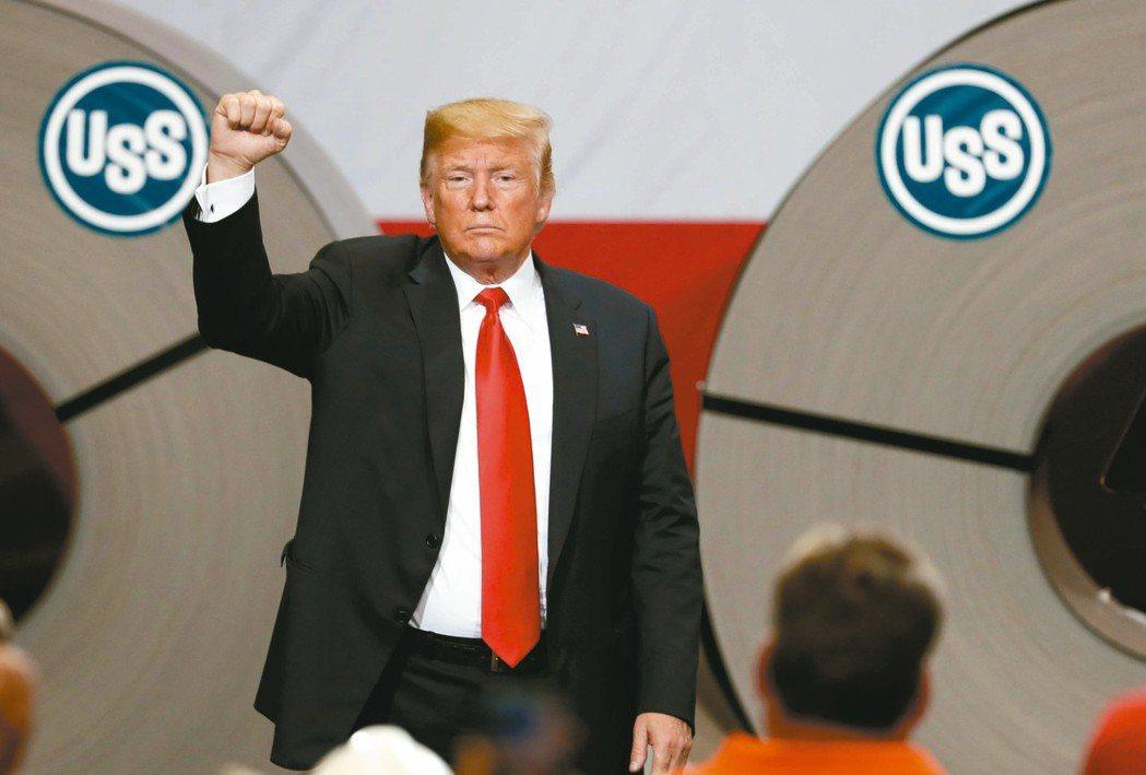 川普可能將加碼課徵的2,000億美元中國貨稅率提高,逼中國讓步。 美聯社