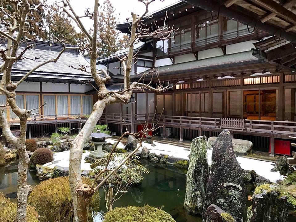 一乘院宿坊擁有傲人的庭園景色。 圖/蔡亦竹攝影提供