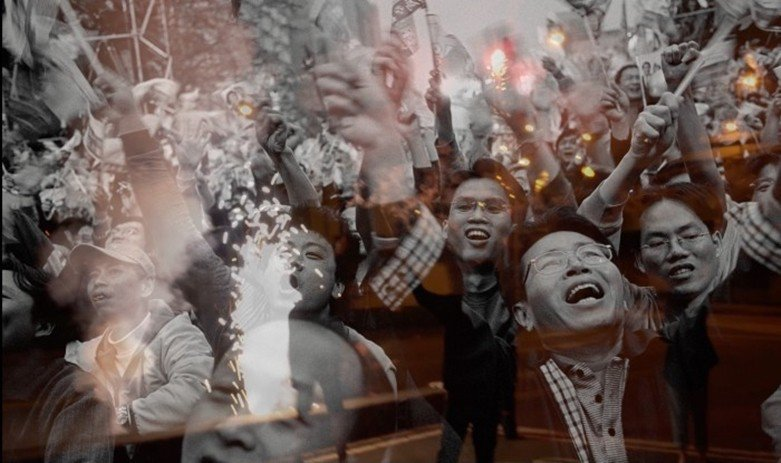 張乾琦《非戰之戰》劇照,2017年。 圖/Taiwan Docs提供