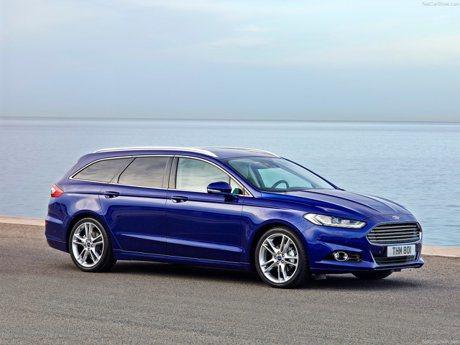 進擊的碗公蟒 Ford Mondeo Wagon小改款歐洲捕獲