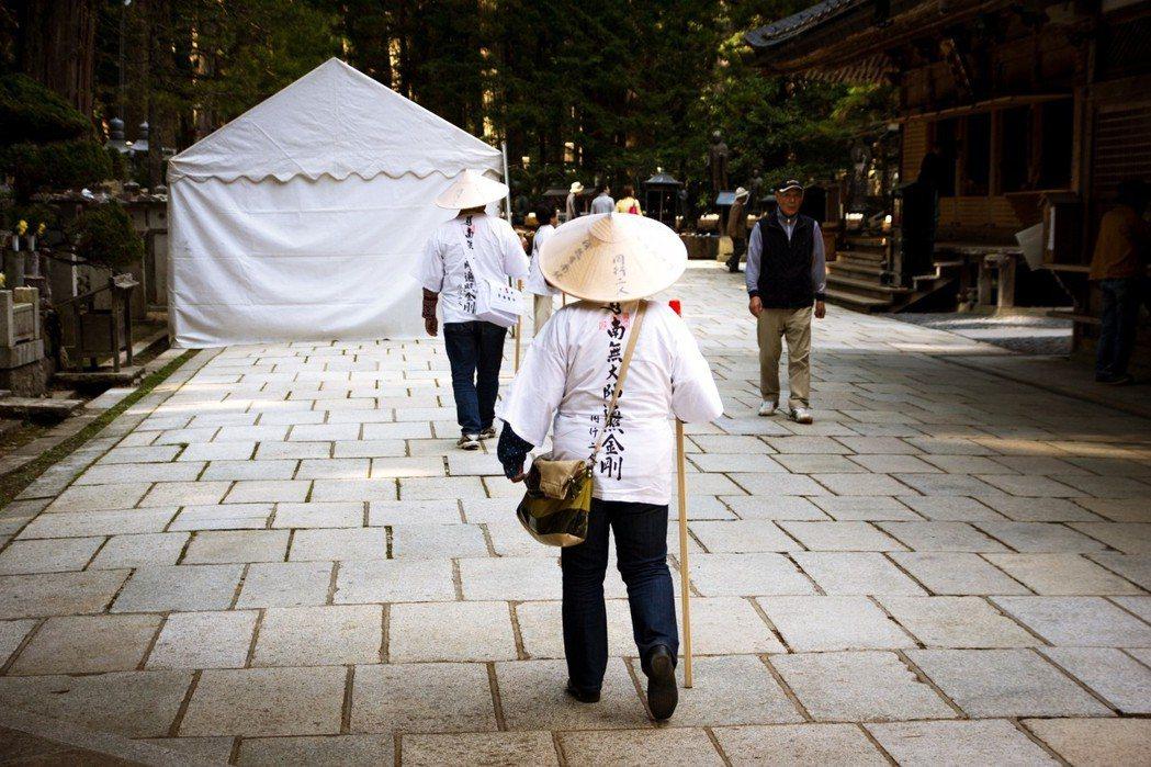 高野山就是以金剛峰寺為中心形成的宗教都市。 圖/Flickr<a href=