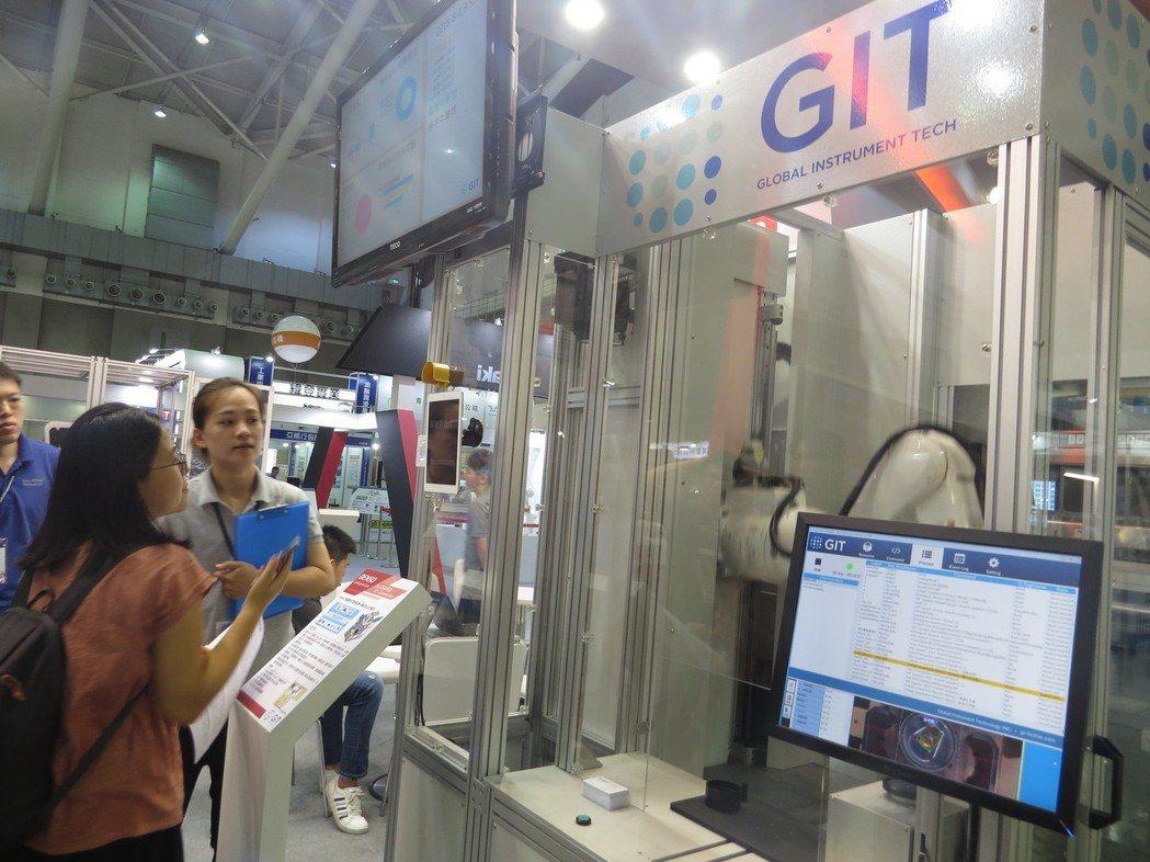 GIT專業的系統整合經驗,協助客戶成功導入產線、達到營運目標。 邱世婷/攝影。