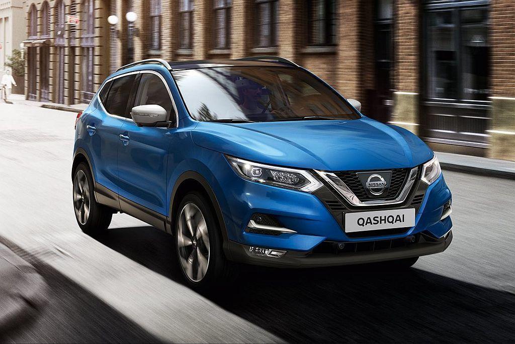 Nissan Qashqai依然是歐洲市場賣最好的休旅車,上半年共交付13.4萬輛新車。 圖/Nissan提供