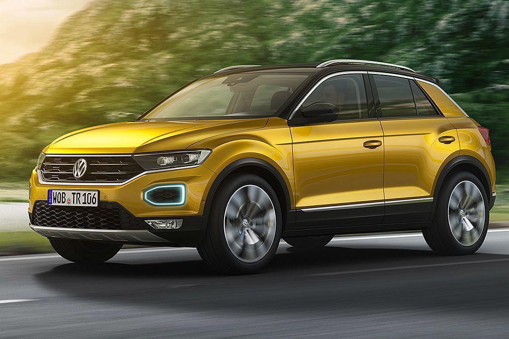 預計明年抵台的Volkswagen T-Roc,目前在歐洲有相當亮眼的銷售表現。...