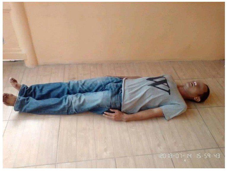 泰國男子詐死,為了騙親友錢。圖擷自臉書