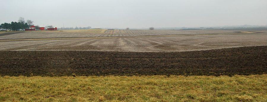 華北平原提供中國人口大量糧食需要,但氣候暖化將不利農民外出農耕。(photo b...