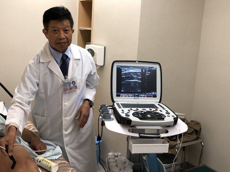 若有出現靜脈曲張症狀應盡早至靜脈血管外科就診。(photo by書田診所提供)