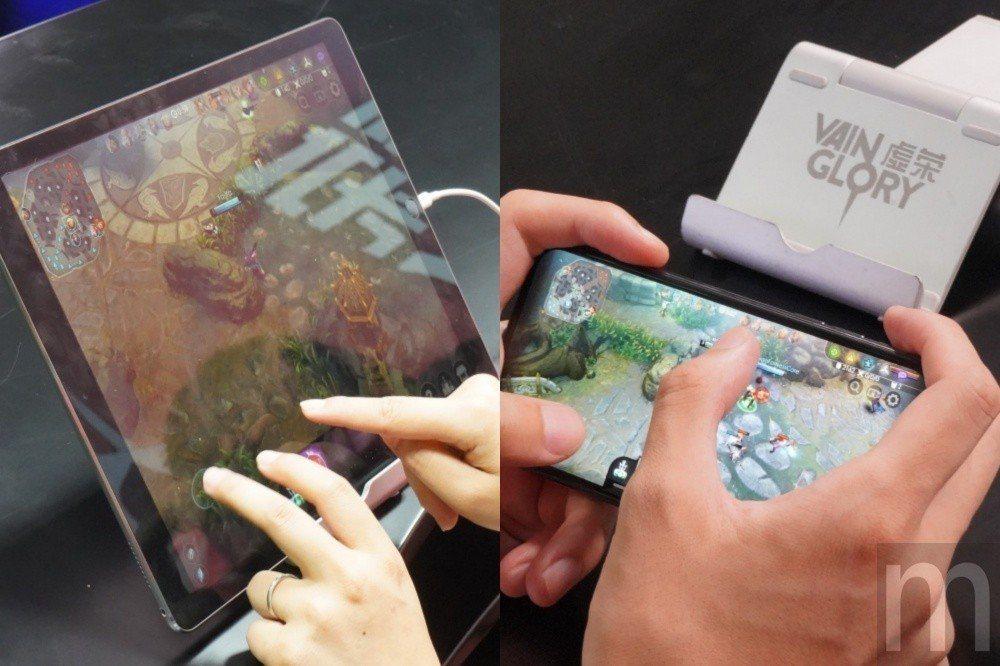 針對不同螢幕規格裝置使用需求,《最終榮耀》加入螢幕觸控、虛擬搖桿操作模式最佳化
