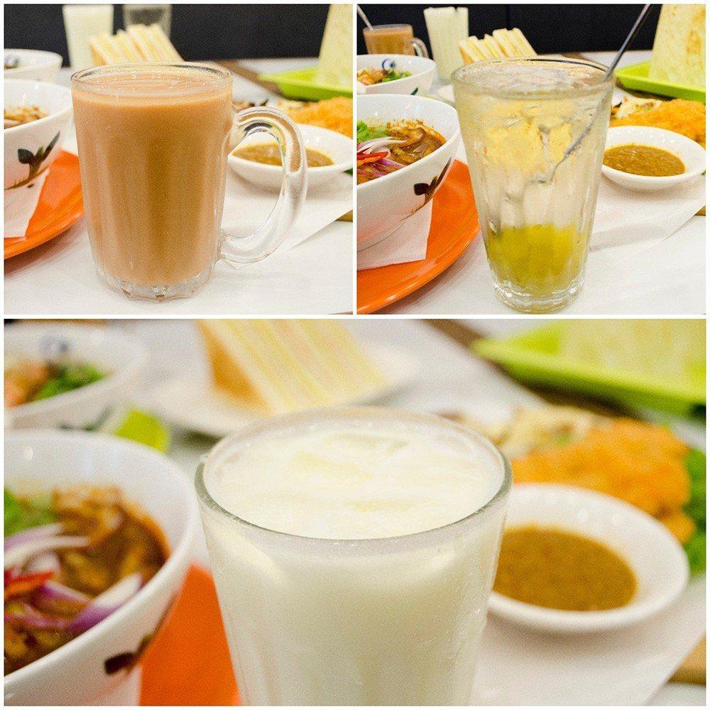 (圖/台灣旅行趣) ▲「印度拉茶」、「拉昔」和「鹹檸七」,都是道地的酸甜滋味。