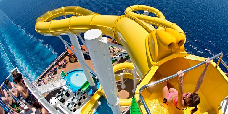 玩船上玩不完的設施!這些船基本上就是以希望你多多享受船上的一切而設計的 (Pho...